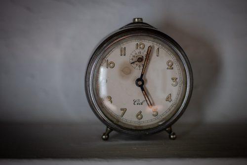 02-12-2018. Reloj. Casa-Museo de Federico García Lorca en Valderrubio (Granada).