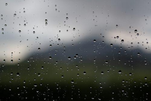 Peña Negra tras la lluvia