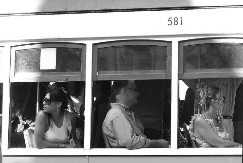 El tranvía 581. Lisboa
